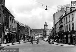 Welshpool, Broad Street c.1955