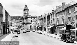 Welshpool, Broad Street c.1960