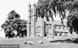 Welshpool, Christ Church c.1955