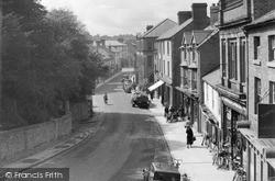 Welshpool, Church Street c.1955