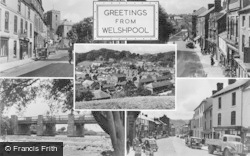 Welshpool, Composite c.1955