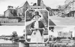 Welshpool, Composite c.1960