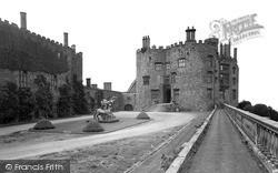 Welshpool, Entrance From Courtyard, Powis Castle c.1955