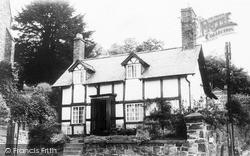 Welshpool, Grace Evan's Cottage c.1965
