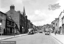 Welshpool, High Street c.1955