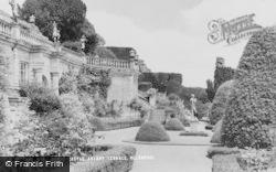 Welshpool, Powis Castle, Aviary Terrace c.1960