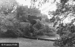Welshpool, Powis Castle c.1955