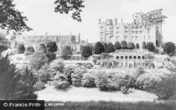 Welshpool, Powis Castle c.1960