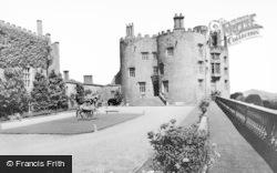 Welshpool, Powis Castle, Entrance From Courtyard c.1960