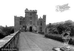 Welshpool, Powis Castle From Sundial Terrace c.1955