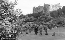 Welshpool, Powis Castle From The Rose Garden c.1955