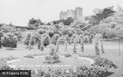 Welshpool, Powis Castle From The Rose Garden c.1960