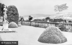 Welshpool, Powis Castle, The Terrace c.1955
