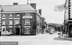 Welshpool, Royal Oak Hotel And Severn Street c.1960