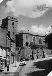 Welshpool, St Mary's Church c.1960