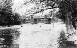 Welshpool, The Bridge c.1965