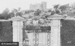Welshpool, The Entrance To Powis Castle c.1960