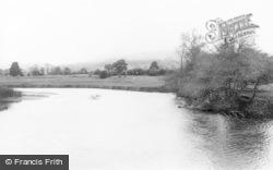 Welshpool, The River c.1965