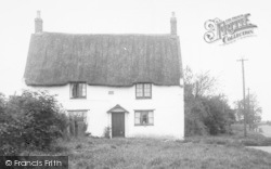 Welton, Cottage In The Village c.1955