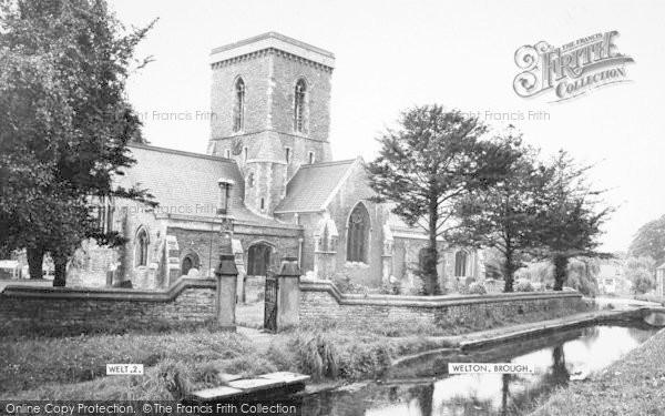 Photo of Welton, St Helen's Church c.1960