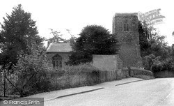Welton, St Martin's Church c.1955