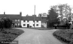 Welton, The Cross Roads c.1955