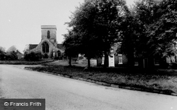 The Green And Church c.1960, Welton