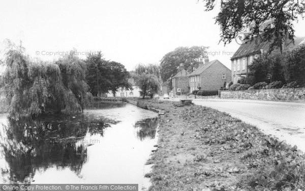 Photo of Welton, The Mill Dam c.1960
