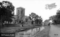 The Village And St Helen's Church c.1960, Welton