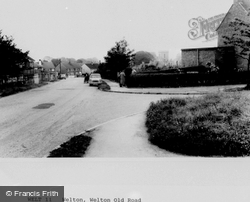 Welton Old Road c.1960, Welton
