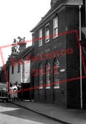 Barclays Bank, Church Street c.1955, Welwyn