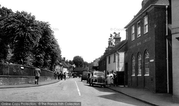 Photo of Welwyn, Church Street c1955, ref. W293008