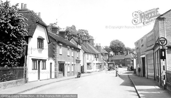 Photo of Welwyn, Church Street c1955, ref. W293009
