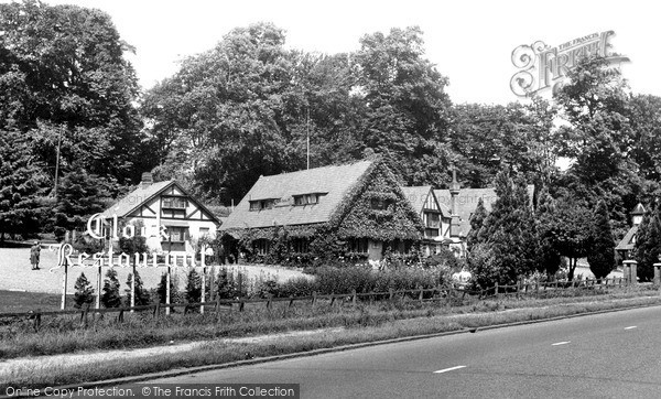 Photo of Welwyn, Clock Restaurant c1955, ref. W293002