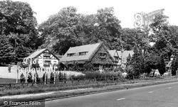 Clock Restaurant c.1955, Welwyn