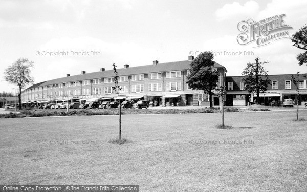 Photo of Welwyn Garden City, Cole Green Lane c1955, ref. W294046