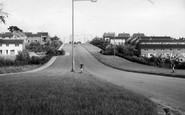 Welwyn Garden City, Digswell Road c.1960