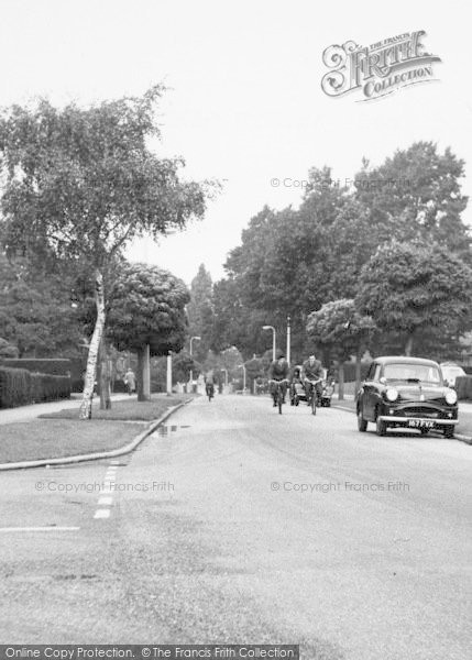 Photo of Welwyn Garden City, Heronswood Road c.1960