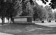 Welwyn Garden City, Monument To Ebenezer Howard (Founder Of City) c.1955