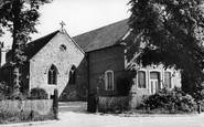 Welwyn Garden City, Parish Church Of St Mary Magdalene c.1955