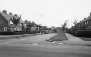 Welwyn Garden City, Salisbury Road c.1960