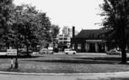 Welwyn Garden City, Station Approach c.1955