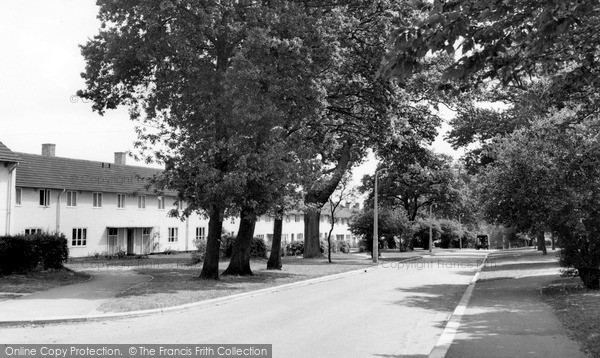 Photo of Welwyn Garden City, Sweetbriar c1955, ref. W294040