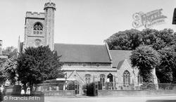 St Mary's Church c.1955, Welwyn