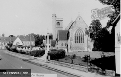 St Mary's Church c.1960, Welwyn