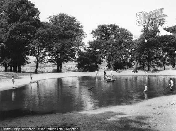 Photo of Wembley, Park, Barn Hill Pond c1960