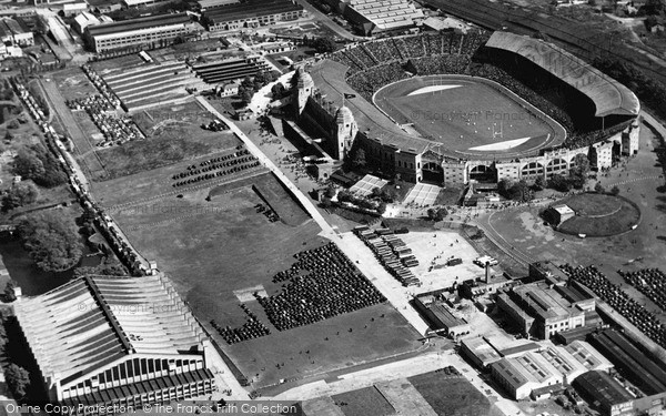 Photo of Wembley, Stadium And Empire Pool 1962