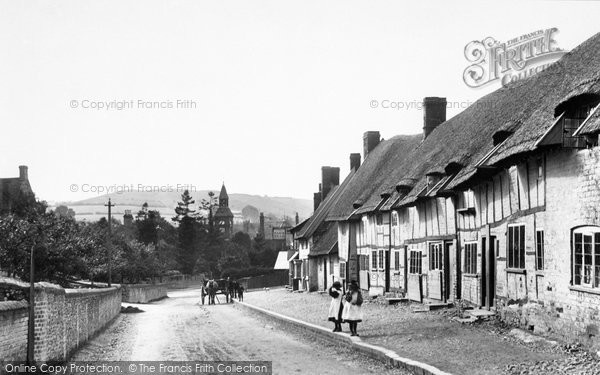 Photo of Wendover, Coldharbour Cottages, Tring Road 1899