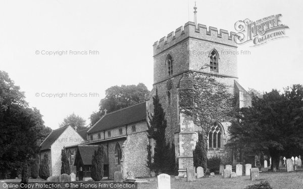 Photo of Wendover, St Mary's Church 1901