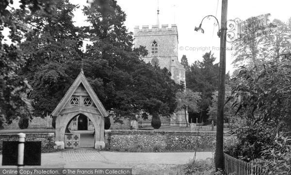 Photo of Wendover, St Mary's Church c.1955